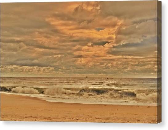 Magic In The Air - Jersey Shore Canvas Print