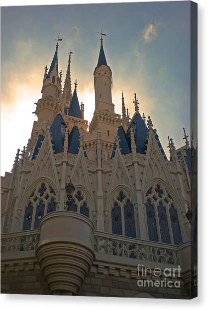 Magic Kingdom - Cinderella Castle Canvas Print