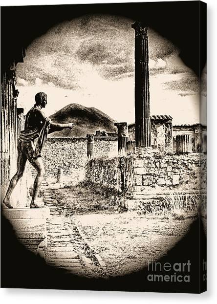 Magic Lantern Pompeii Canvas Print