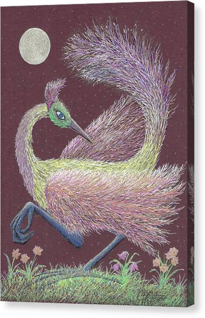Magic Moon Dance Canvas Print