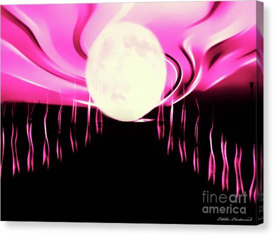 Magic Moon Canvas Print