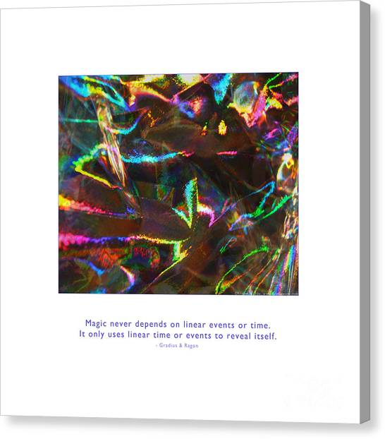 Canvas Print featuring the photograph Magic Reveals Itself by Kristen Fox