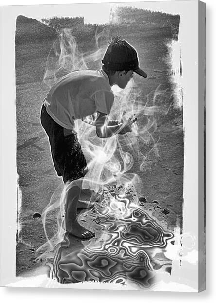 Magic Sand Canvas Print