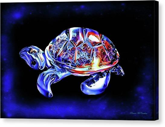 Magic Turtle Canvas Print