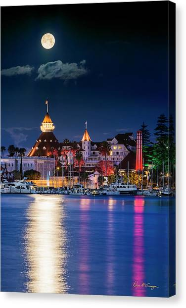 Canvas Print featuring the photograph Magical Del by Dan McGeorge