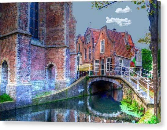 Magical Delft Canvas Print