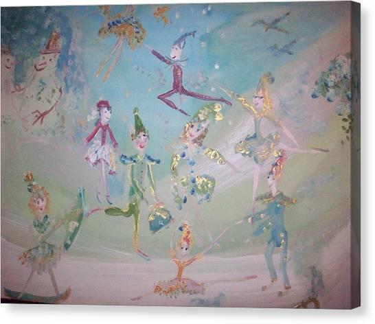 Magical Elf Dance Canvas Print