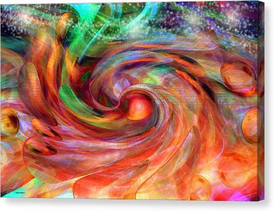Magical Energy Canvas Print
