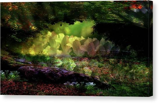 Contemporary Art Canvas Print - Magical Forest by Contemporary Art