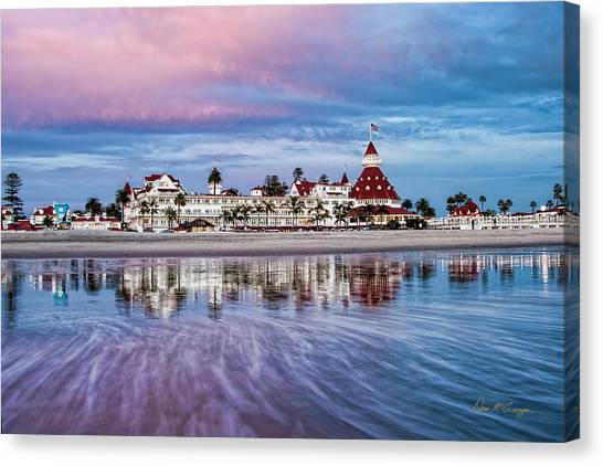 Canvas Print featuring the photograph Magical Moment Horizontal by Dan McGeorge