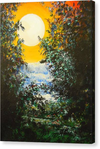 Magical Moonlight Canvas Print