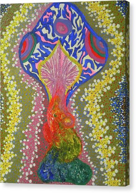 Magical Mushroom Canvas Print