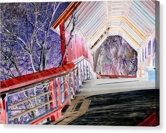 Magical Mystery Bridge Canvas Print
