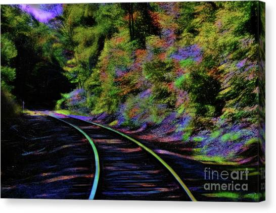 Canvas Print featuring the photograph Magical Mystery Tour by Patti Whitten