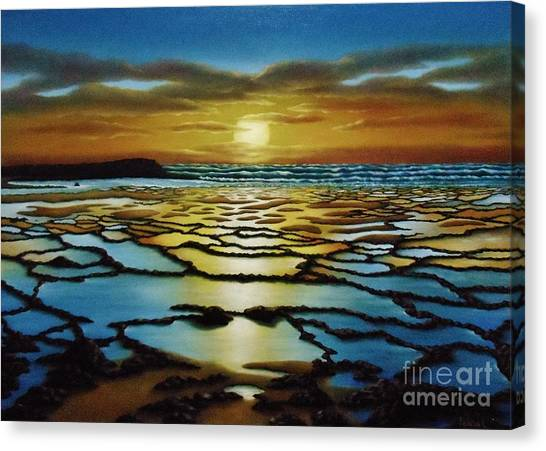 Magical Sunset Canvas Print