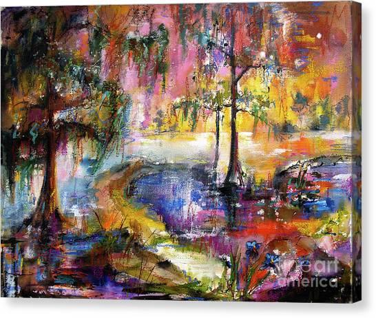 Magical Wetland Landscape Canvas Print