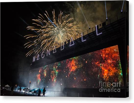 Magnaball Finale Canvas Print