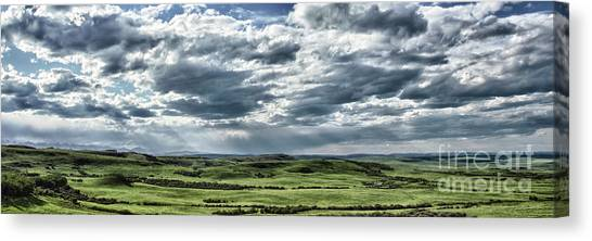 Canvas Print featuring the photograph Magnetic View by Brad Allen Fine Art
