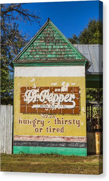 Dr. Pepper Canvas Print - Magnolia Dr Pepper by Stephen Stookey