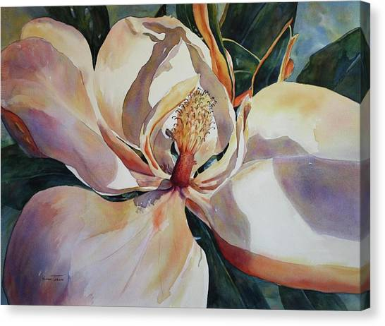 Magnolia, Golden Glow Canvas Print