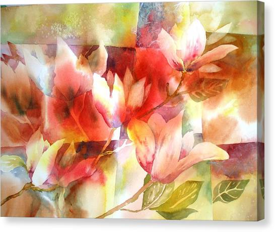 Magnolia Magic Canvas Print
