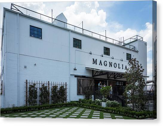 Hgtv Canvas Print - Magnolia Market by Debra Martz