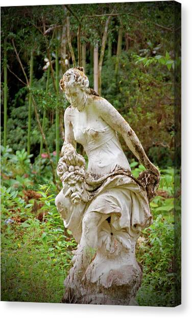 midnight in the garden of good and evil canvas print magnolia plantation statue by jean - Midnight In The Garden Of Good And Evil Statue