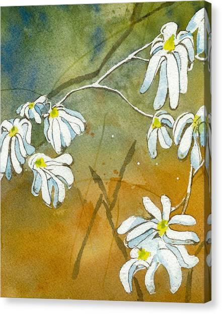 Magnolias 2 Of 3 Canvas Print