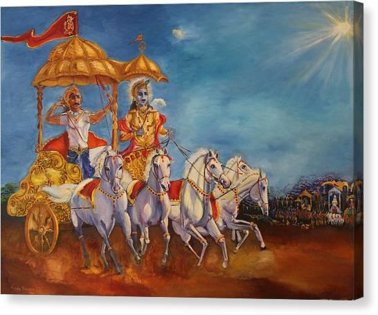 Mahabharat Canvas Print
