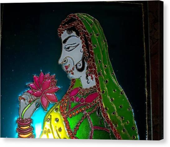 Maharani Canvas Print by Sarika Hemane