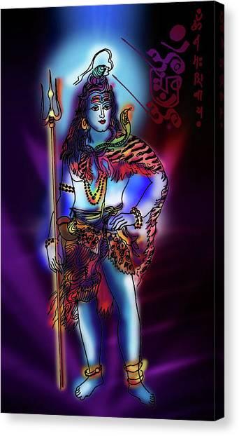 Maheshvara Sadashiva Canvas Print