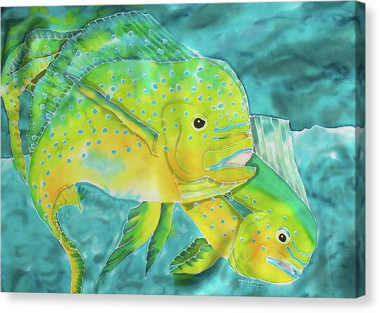 Mahi Canvas Print