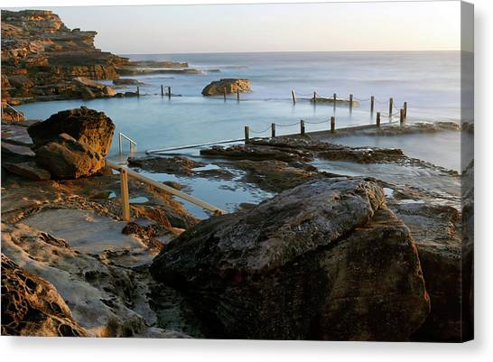 Mahon Pool Canvas Print
