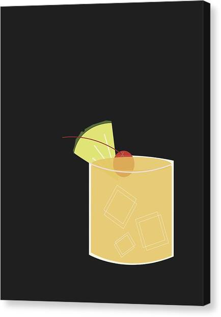 Drinks Canvas Print - Mai Tai  by Julia Garcia