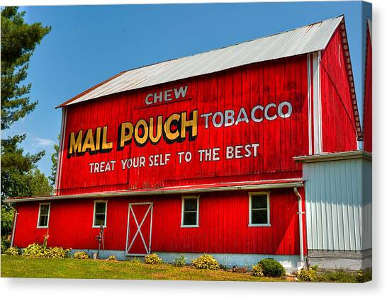 Mail Pouch Barn Canvas Print