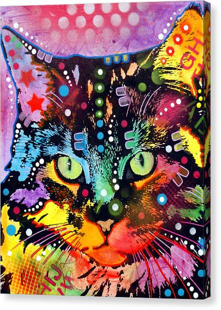Main Coons Canvas Print - Maine Coon by Dean Russo Art
