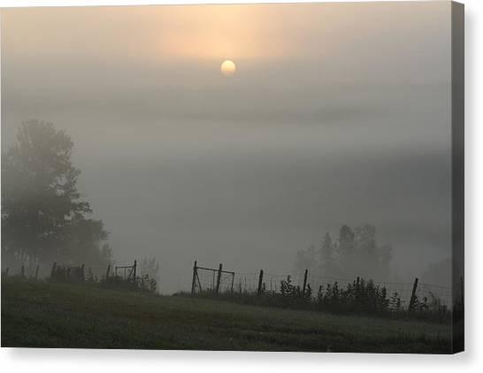 Maine Morning Canvas Print