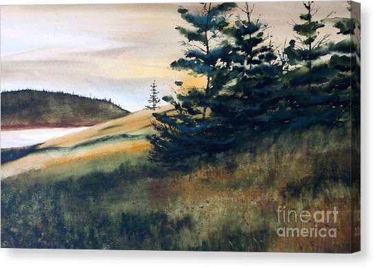 Maine Sunrise Canvas Print