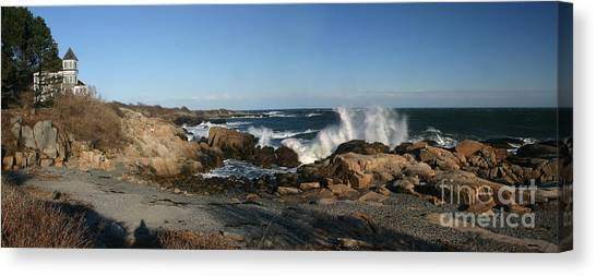 Maines' Rocky Coast Canvas Print