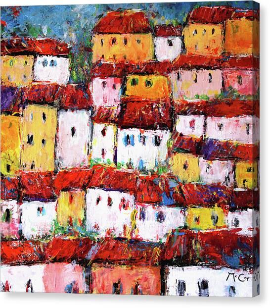 Maisons De Ville Canvas Print