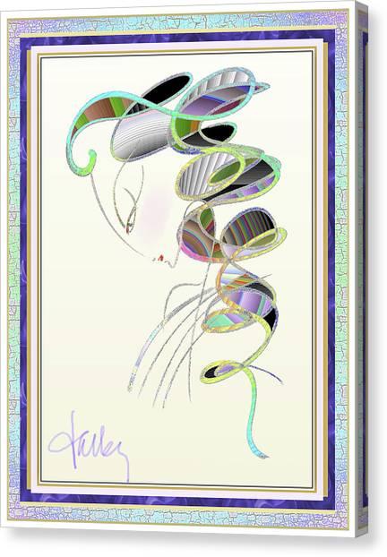 Maitresse-en-titre Canvas Print