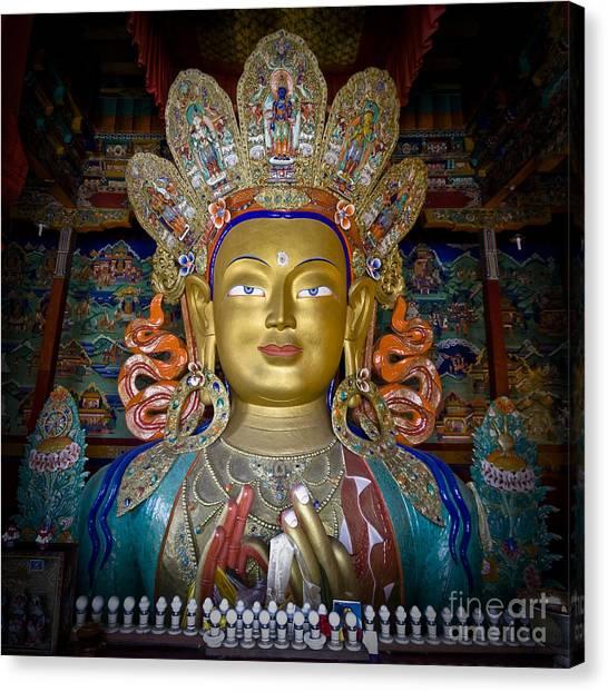Maitreya Buddha Canvas Print
