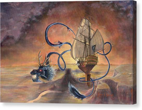 Majestic Accord Canvas Print