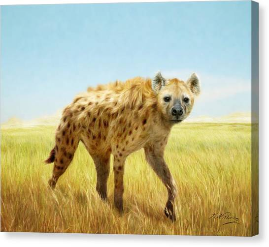 Majestic Canvas Print by Bill Fleming