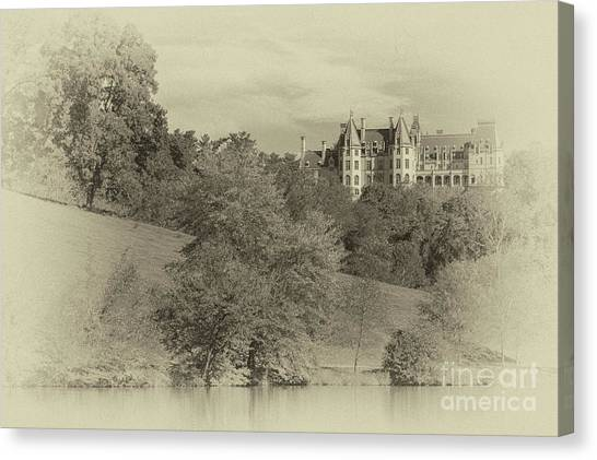 Majestic Biltmore Estate Canvas Print