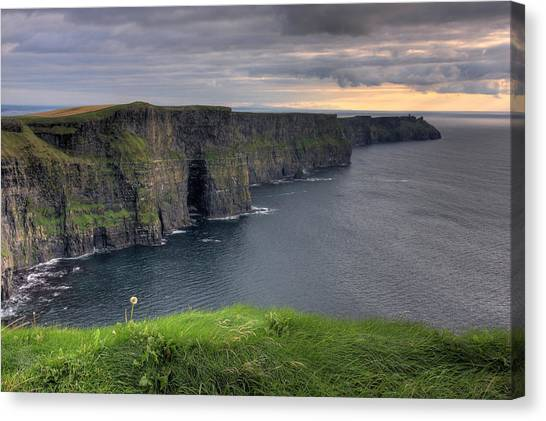 Majestic Cliffs Of Moher Co. Clare Ireland Canvas Print