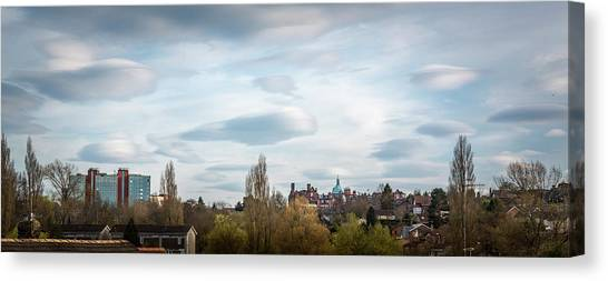 Majestic Cloud 1 Canvas Print