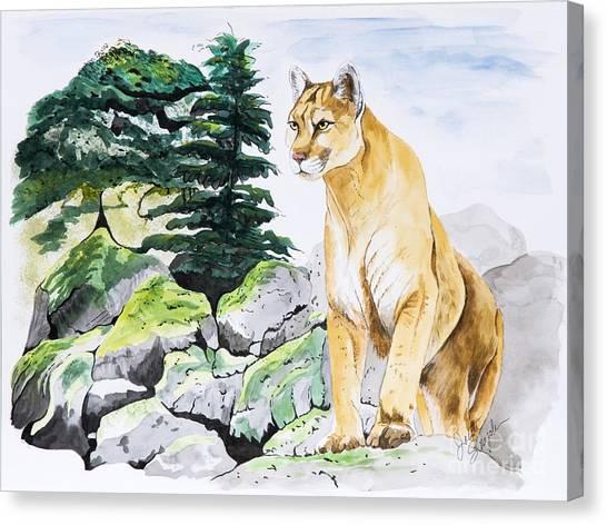 Majestic Domain Canvas Print
