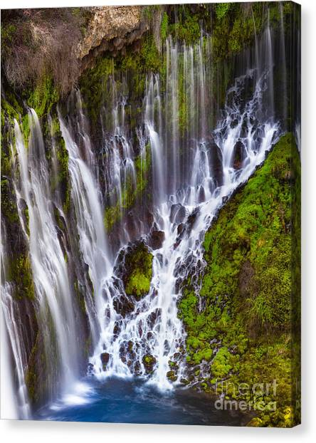 Majestic Falls Canvas Print