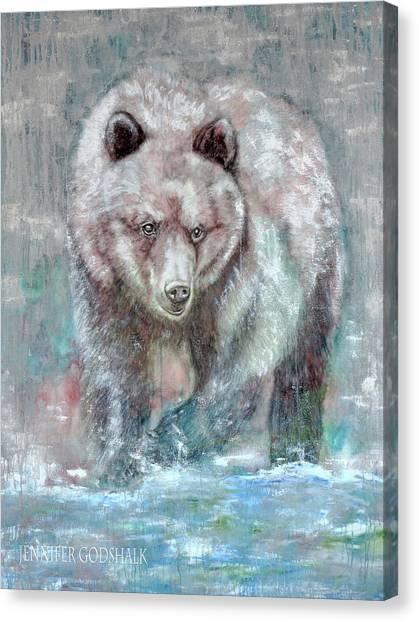 Majestic Hunt Canvas Print